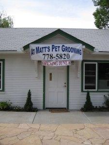 At Matt's Pet Grooming